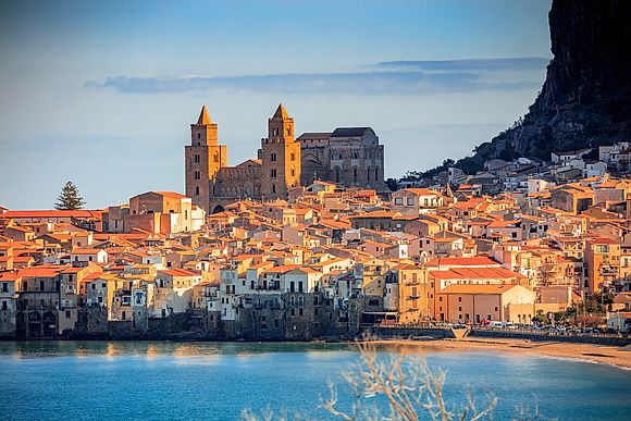 New Images > Cefalù, Sicily One of the most beautiful towns in Italy