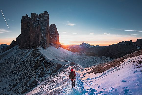 NEW IMAGES > Trekking the Dolomites Adventure awaits in magnificent world heritage landscapes