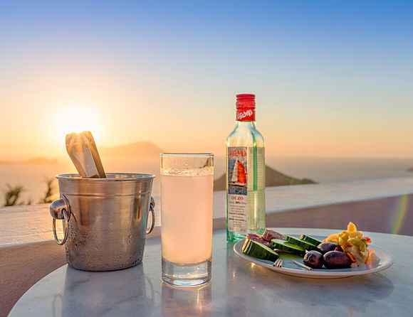 New Images > An Ouzo in the Aegean Photographer Salem Kamel's images encapsulate Summer in the Cyclades
