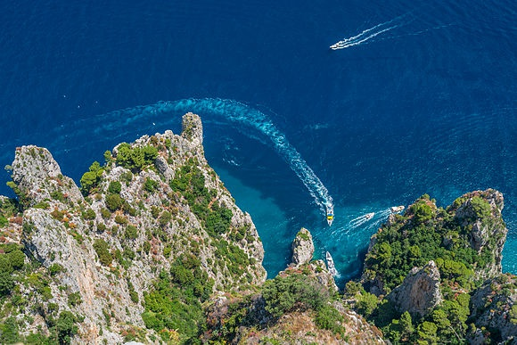 New Images > Capri A perfectly formed Mediterranean marvel of the Tyrrhenian Sea where nature meets the glitterati