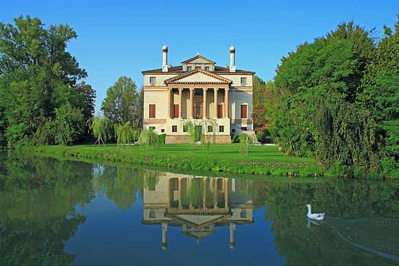 ITALIA DEI BORGHI  > The Andrea Palladio architectures Villas, palaces, churches