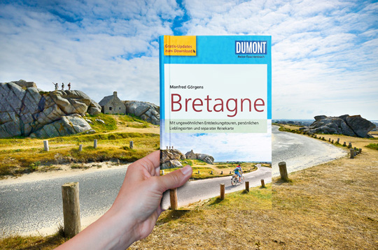 Our front cover shot Dumont Travel Guides chose a Sime Photo as cover image for the new Bretagne guide