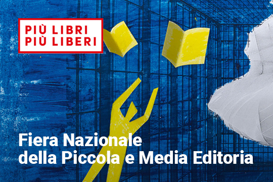 Sime Books is at Più Libri Più Liberi, 4 - 8 December 2019 Come and see us at the Rome Convention Center - La Nuvola di Roma, stand L01 - M01