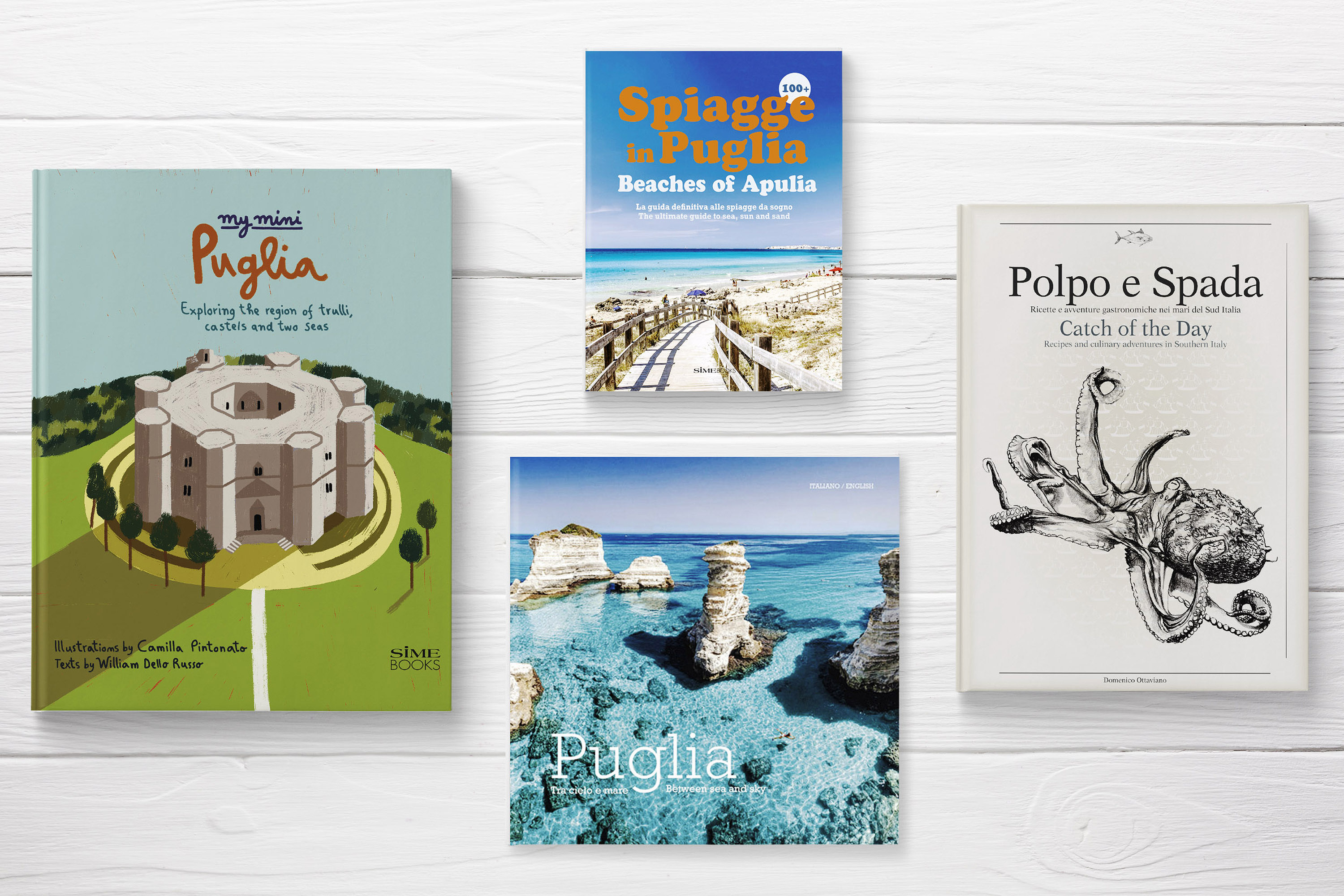 PROMOZIONE ITALY > Apulia Learn about regions of Italy with SimeBooks