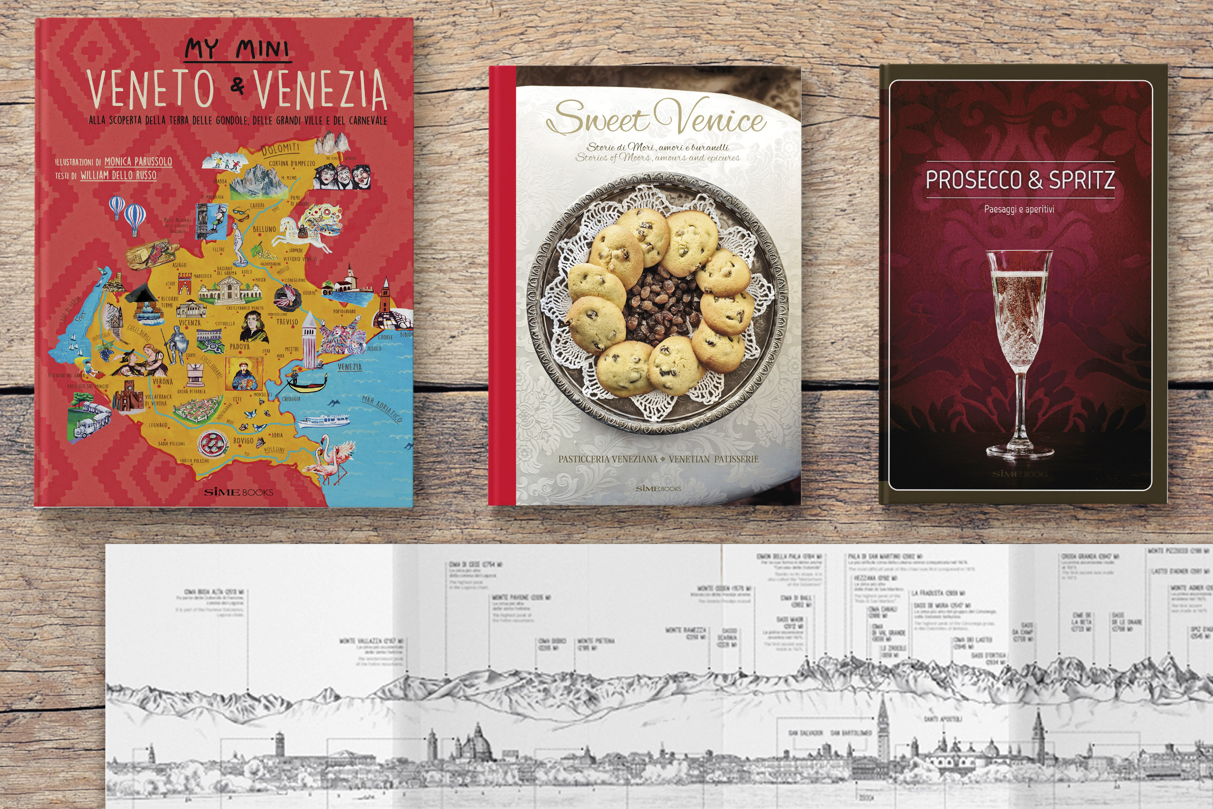 PROMOZIONE ITALY > Veneto Learn about regions of Italy with SimeBooks