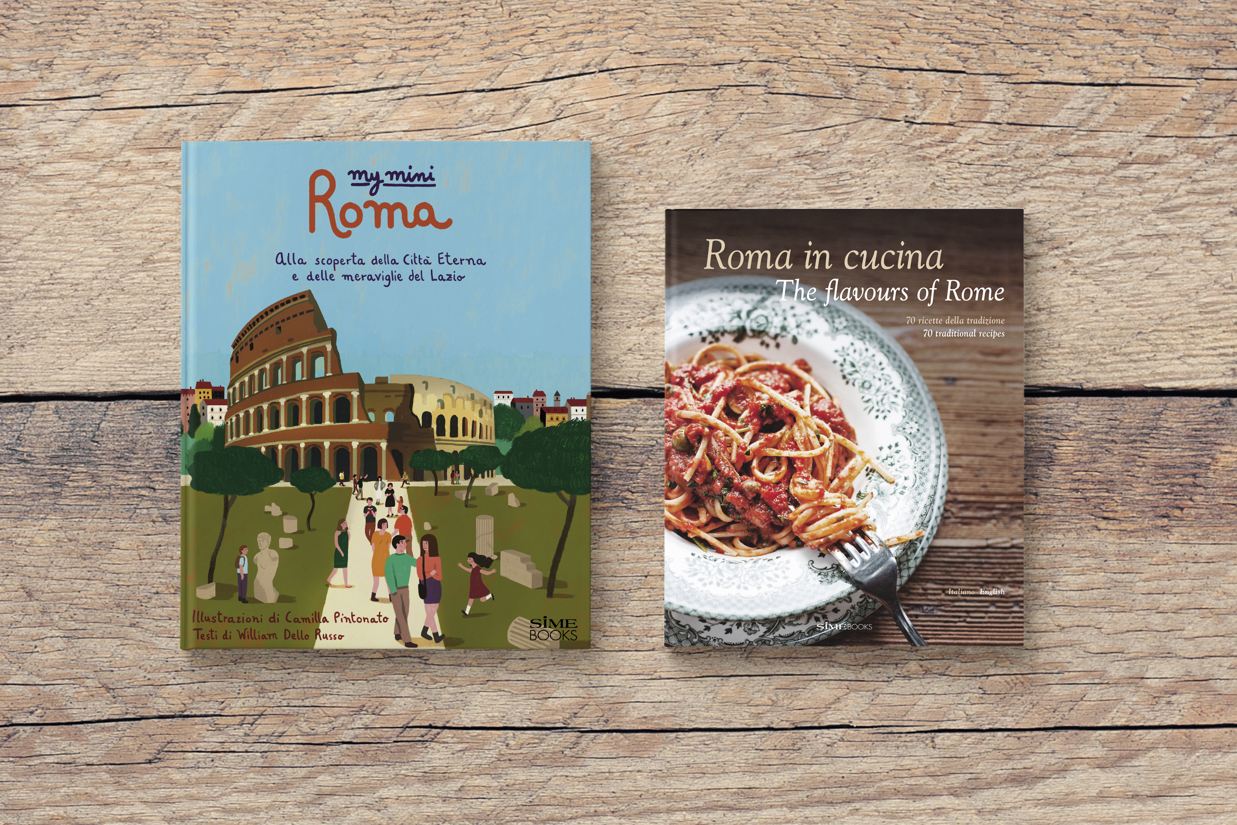 PROMOZIONE ITALY > Rome Learn about regions of Italy with SimeBooks