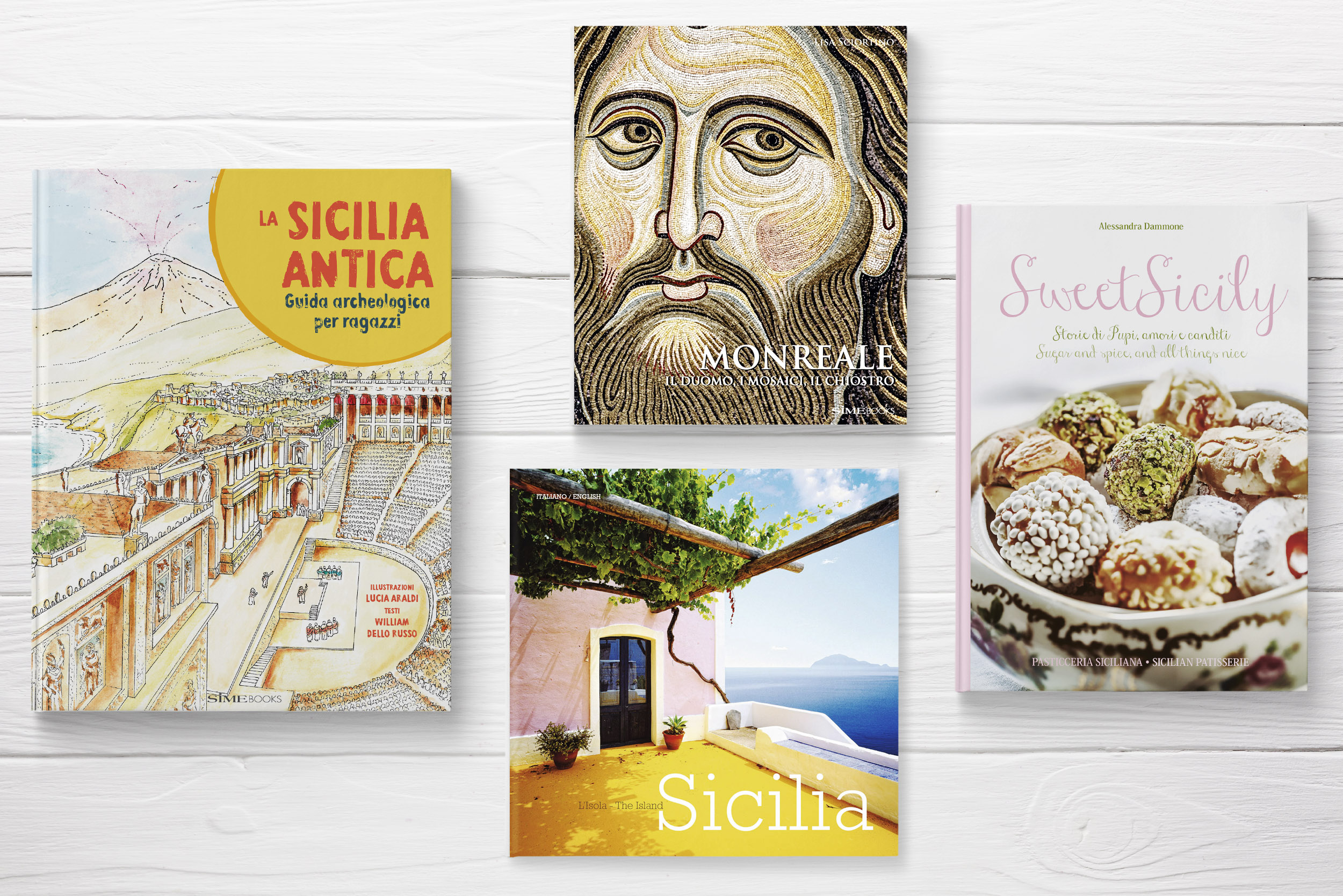 PROMOZIONE ITALY > Sicily Learn about regions of Italy with SimeBooks