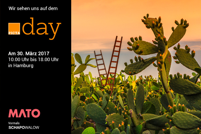 Save the date: PICTAday 30 march 2017 Our partner agency Schapowalow will be at PICTAday